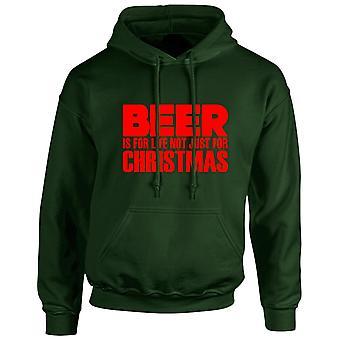 Öl är inte bara för jul Xmas Unisex Hoodie 10 färger (S-5XL) av swagwear