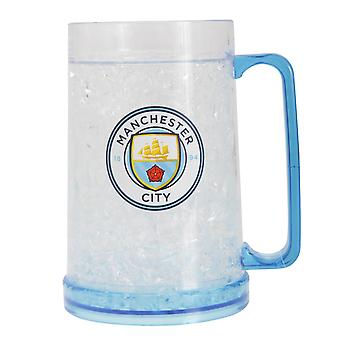 Manchester City FC Official Football Crest Freezer Mug