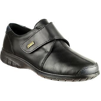 كوتسوولد السيدات كرانهام اللمس ابزيم الأسود ماء الأحذية والجلود