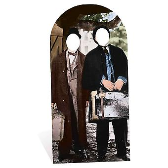Laurel and Hardy  Stand in Lifesize Cardboard Cutout