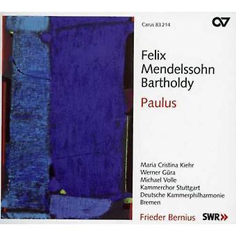 F.M. Bartholdy - Mendelssohn: Paulus [SACD] USA import