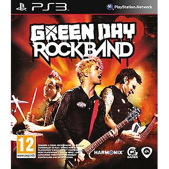 Green Day rock band (PS3)-nieuw