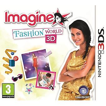 Imagine Fashion World 3D (Nintendo 3DS) - As New