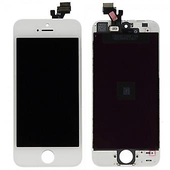 Display LCD complete unit touch panel for Apple iPhone 5 white