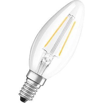 OSRAM 4052899936485 LED (monochroom) EEG A++ (A++ - E) E14 Kaars 2 W = 25 W Warm wit (Ø x L) 35 mm x 99 mm 1 st(en)