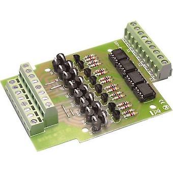 TAMS Elektronik GBM-8 52-01085-01 Gleisschaltung Montagesatz Universal