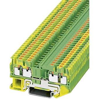 Phoenix Contact PT 2,5-QUATTRO-PE 3209594 Tripleport PG terminal antal stift: 4 0,14 mm² 2.5 mm² gul-1 dator