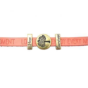 Mulheres - de-rosa pulseira - árvore da vida - desejos - rosa - - magnéticas trancar - esperança - sobrevivente