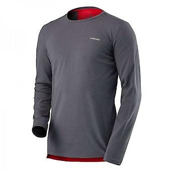 Head vision transition Longsleeve men's anthracite 811577