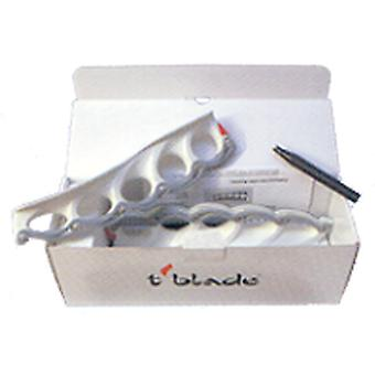 T-blade skid system complete standard in white