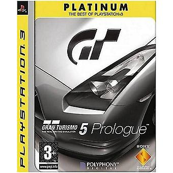 Gran Turismo 5 Prologue Platinum PS3 gra