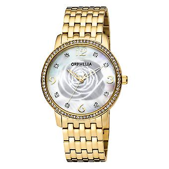 ORPHELIA Women Analogue Watch Gold Stainless steel OR12704