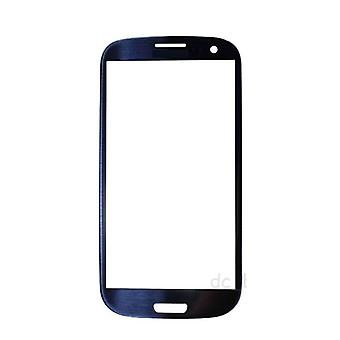 Stuff Certified® Samsung Galaxy S3 i9300 Front Glass Glass Plate AAA + Quality - Blue