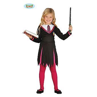 Guirca estudante de aprendiz de feiticeiro mágica fantasia mágico para crianças Halloween Mage estudantes gr 110-146, tamanho: 110/116