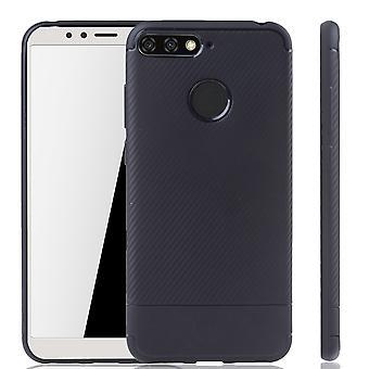 Huawei Y6 2018 mobiili kansi Schutzcase optic puskurin nokea