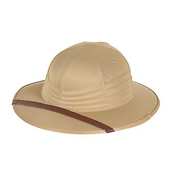 Safari Hat Beige Nylon Felt
