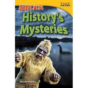 Olösta! Historiens mysterier (avancerad) (2nd) av Dona Herweck ris-