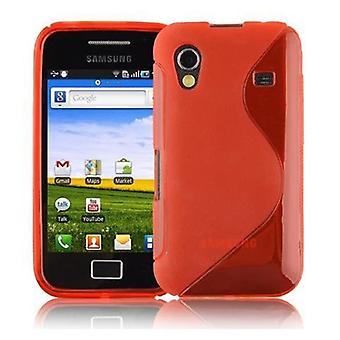 Cadorabo Case for Samsung Galaxy ACE 1 Case Cover - Flexible TPU Silicone Case Case Ultra Slim Soft Back Cover Case Bumper
