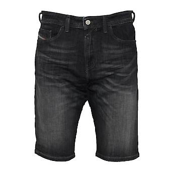 Diesel Thashort Dark Grey Denim Washed Shorts