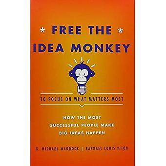 Gratis el mono Idea centrarse en lo más importante: cómo las personas exitosas hacen grandes Ideas pasar