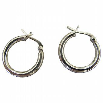 Stylish Gift Endless Wire Sterling Silver Hoop Earrings Weight 5.2 gms