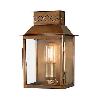 Lambeth Palace ścienne latarnia mosiądz - Elstead Lighting