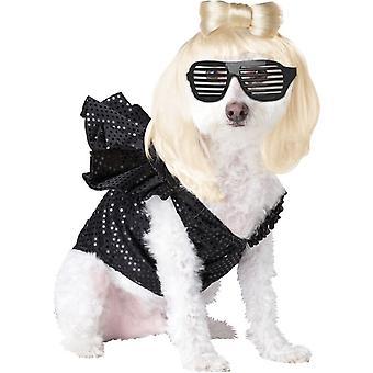 Pop Diva huisdier kostuum