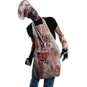 Zombie Butch Adult Apron