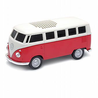 公式の VW キャンパー ヴァン Bluetooth ワイヤレス音楽スピーカー - 赤