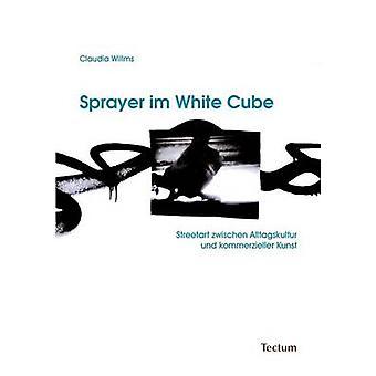 Sprayer im White Cube by Willms & Claudia