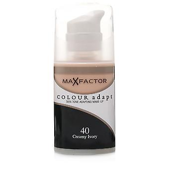 Max Factor Colour Adapt Foundation 40 Avorio di crema