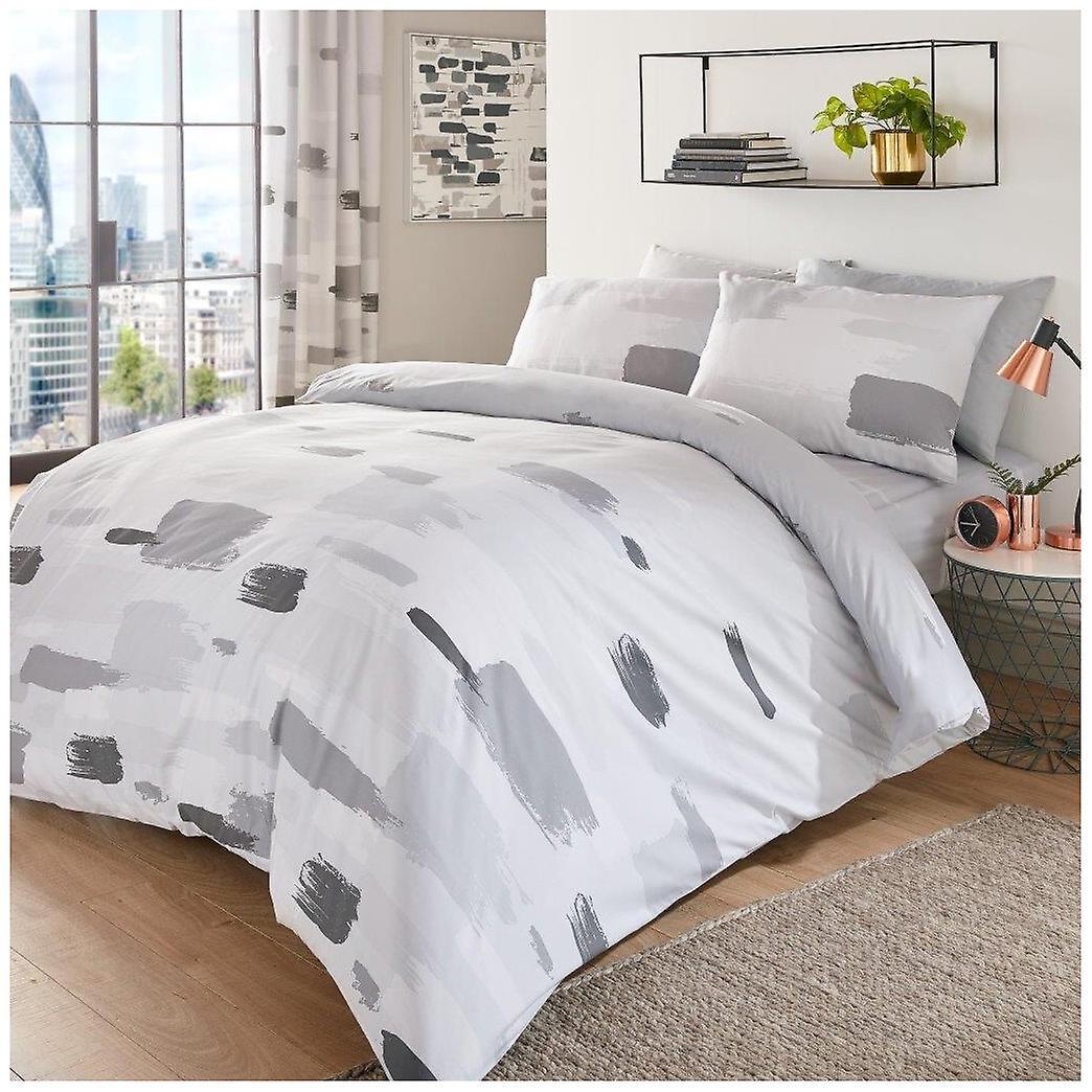 Jonah Artwork Pattern Modern Duvet Quilt Cover Reversible Bedding Set Fruugo Lu