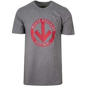 Moose Knuckles Grey Rendez-Vous T-Shirt