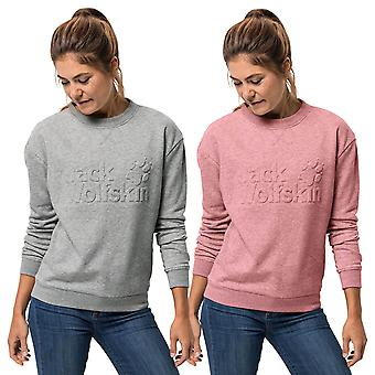 Jack Wolfskin Womens Logo Sweater