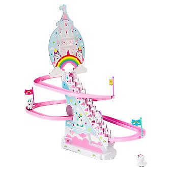 Licorne escalier escalade course jouet
