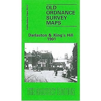 Darlaston 1901 - Staffordshire Sheet 63.13 by John Maddison - 97808505
