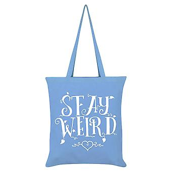 Grindstore Stay Weird Tote Bag