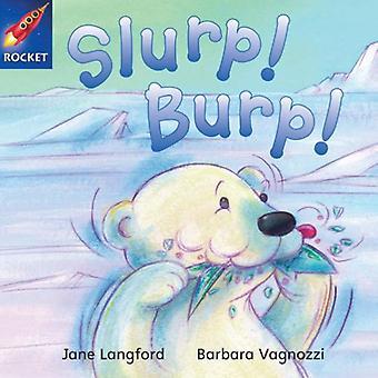 Slurp! Burp!: blauw Reader 7 (Rigby Star onafhankelijk)