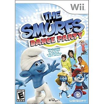 De Smurfen Dance Party Nintendo Wii Game