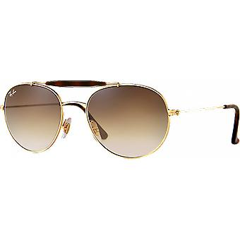 Ray - Ban RB3540 Large gold/Brown gradient scale