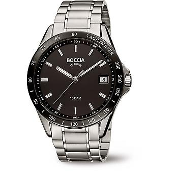 Boccia Titanium 3597-02 Miesten Watch