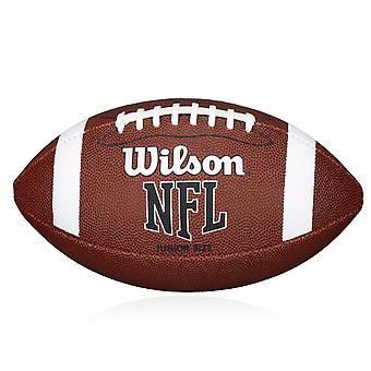 Wilson NFL Bin American Football Ball Official Size Tan