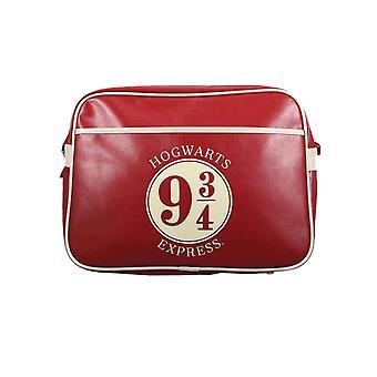 Harry Potter Messenger Çanta Platformu 9 3 / 4 Hogwarts Express Resmi Kırmızı & Beyaz