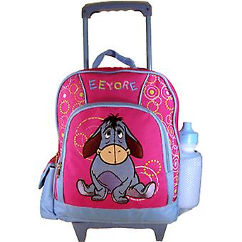 Small Rolling Backpack - Disney - Winnie The Pooh Eeyore New Bag Girls 221027