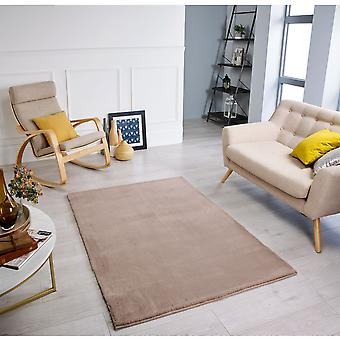 Comfy Mink  Rectangle Rugs Plain/Nearly Plain Rugs