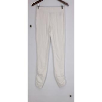 Slimming Options for Kate & Mallory Leggings Ruched Legging White A426083