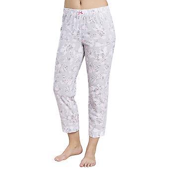 R'sch 1884152-11913 Women-apos;s Smart Casual Everyday Grey Floral Cotton Pyjama Pant
