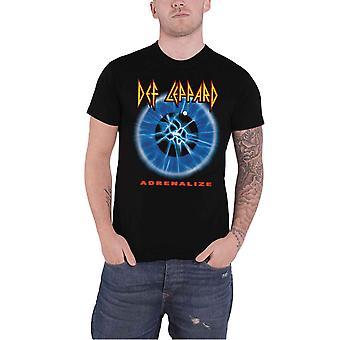 Def Leppard Adrenalize Official Mens New Black T Shirt