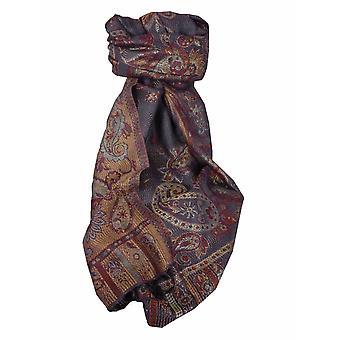 Mens Jamawar Premium Silk Scarf Modello 3619 di Pashmina & Silk