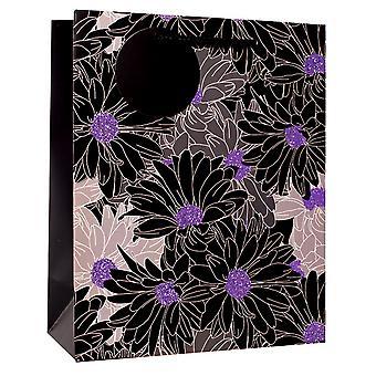 Simon Elvin Foil Floral Design Gift Bags (Pack of 6)